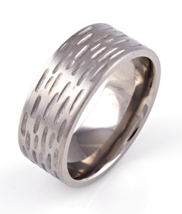Textured Band for Men