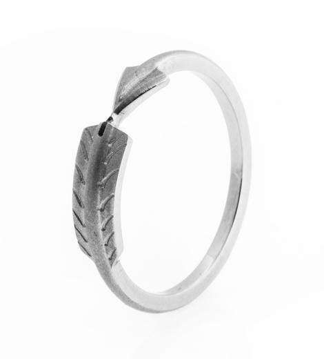 Women's Titanium Arrow Wrap Ring