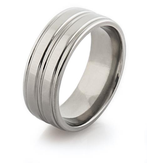 Classic Titanium Ring