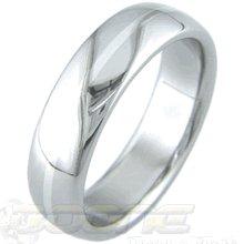 Titanium White Gold Ring