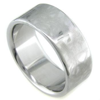 Titanium Ring with Alien Skin Finish