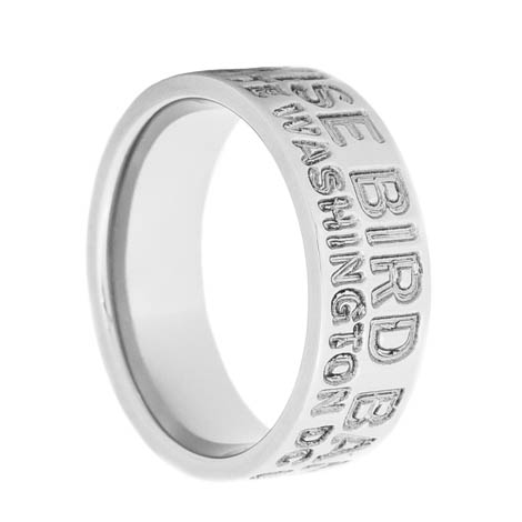 Men's Titanium Authentic Duck Band Ring