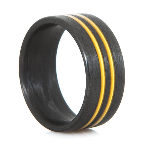 No Passing Carbon Fiber Ring