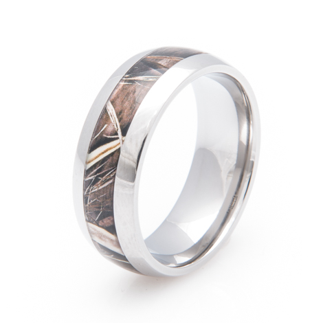 Men's Titanium Realtree® MAX-4 Wedding Band