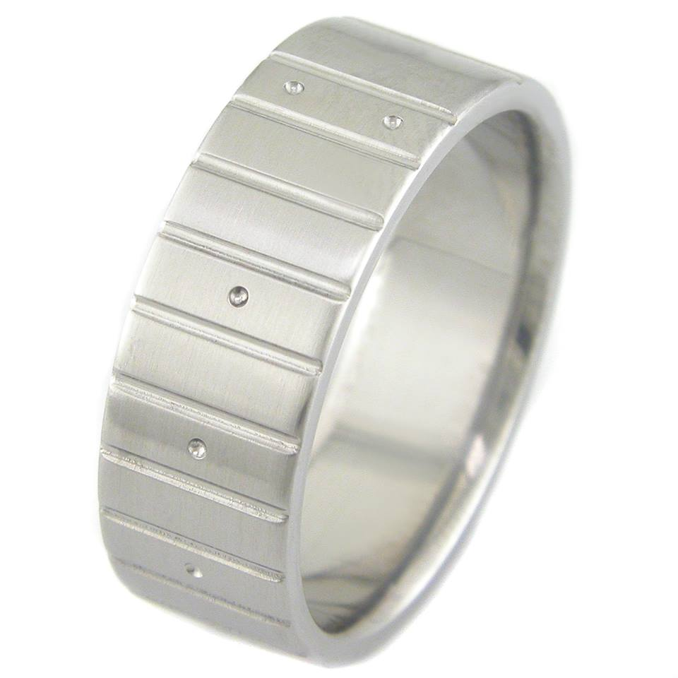 Titanium Guitar Fret Ring