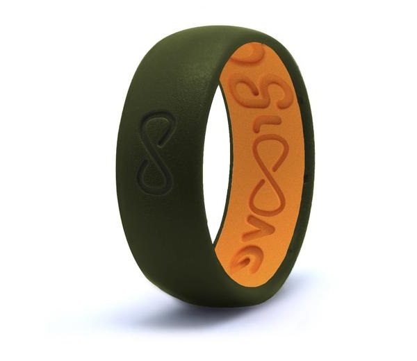 Groove Life Silicone Ring- Original Moss Green