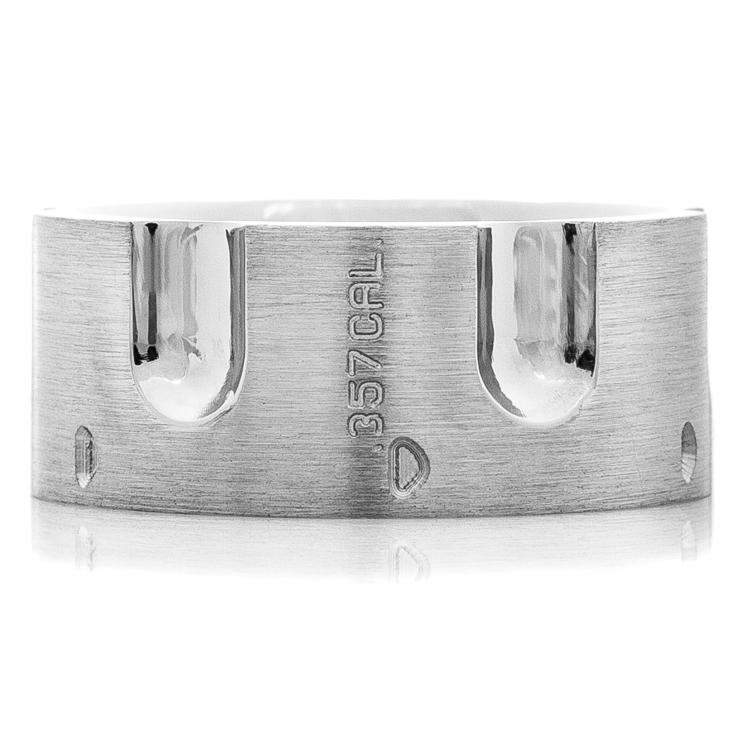 Men's Titanium .357 Revolver Ring