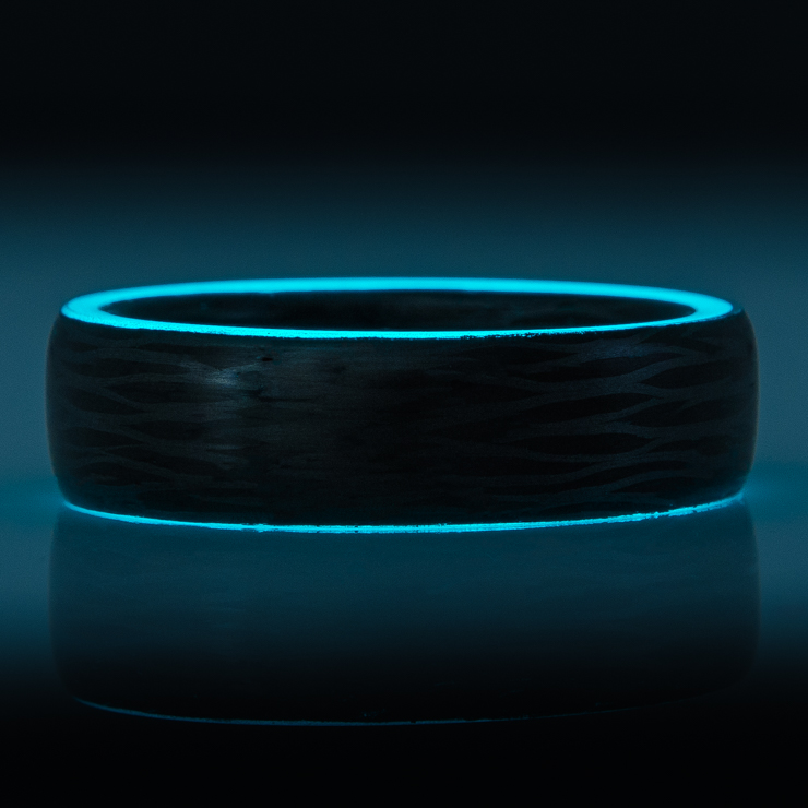 Sidecut Carbon Fiber Glow Ring-The Oreo