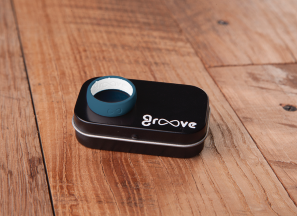 GROOVE ORIGINAL SILICONE RING - ANCHOR