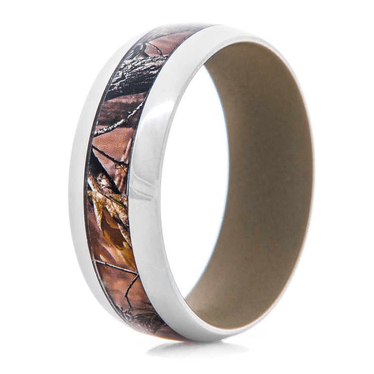 Men's Realtree AP Camo Ring With Coyote Tan Interior