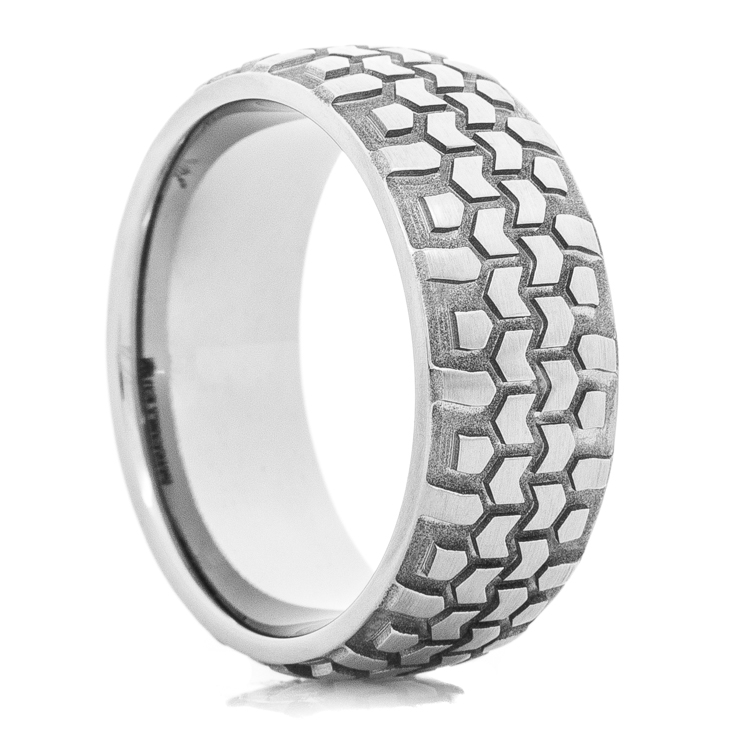 Men's Titanium Interco® Super Swamper Tread Ring