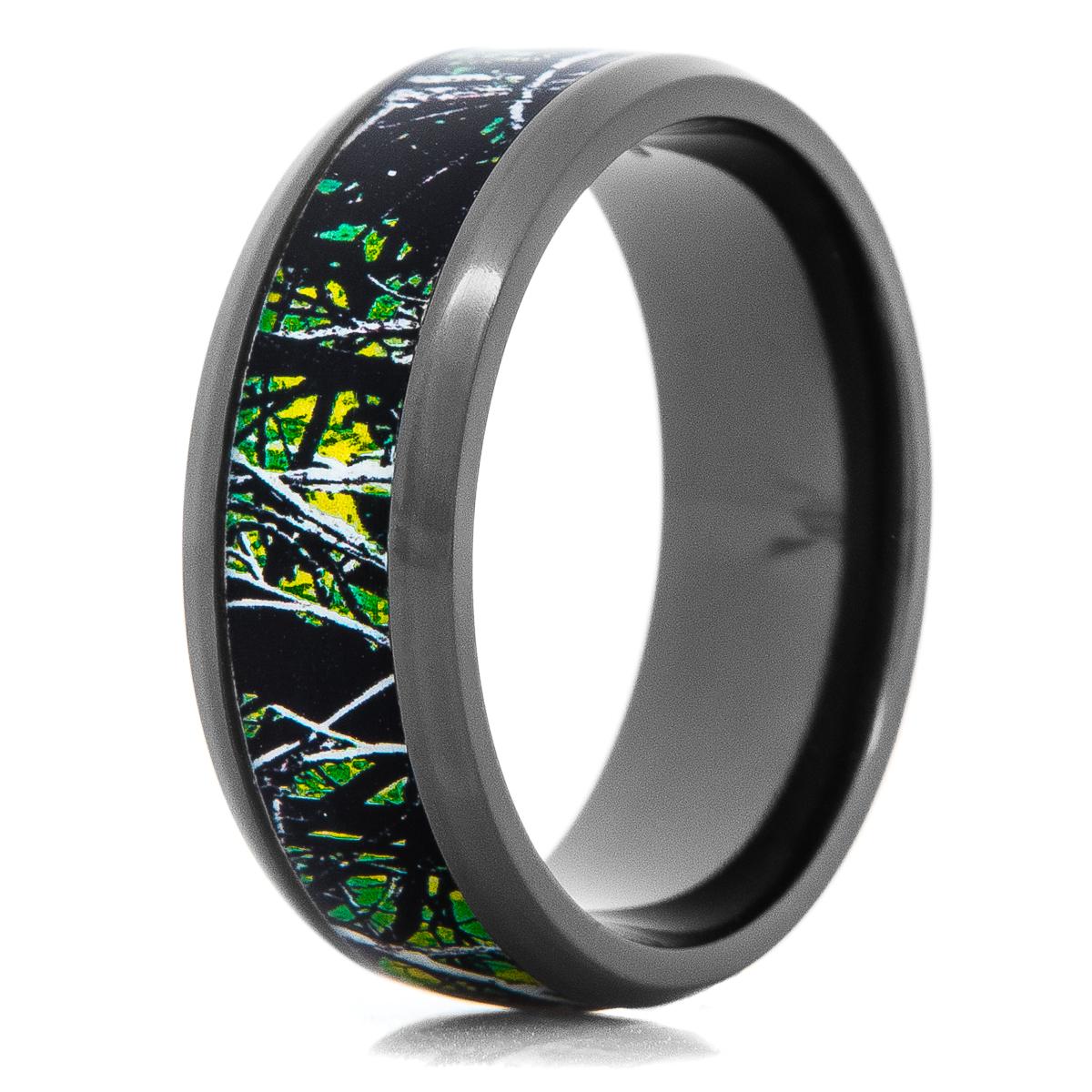 Men's Sirphis™ Toxic Green Camo Ring