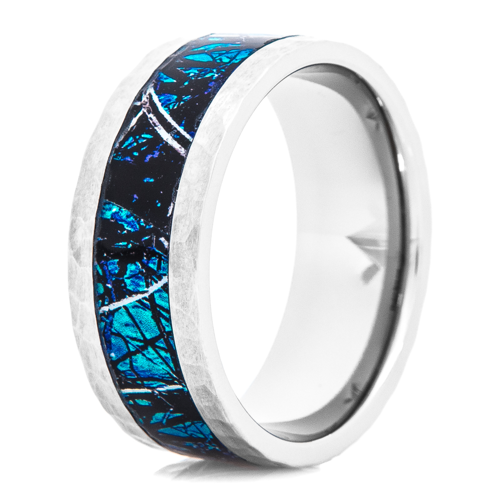 Hammered Titanium Men's Undertow Sirphis™ Camo Ring