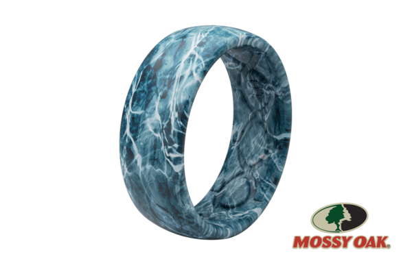 Groove Life Silicone Ring- Mossy Oak Elements Agua Spindrift Camo