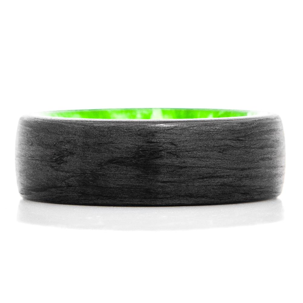 Green Slime Carbon Fiber RIng