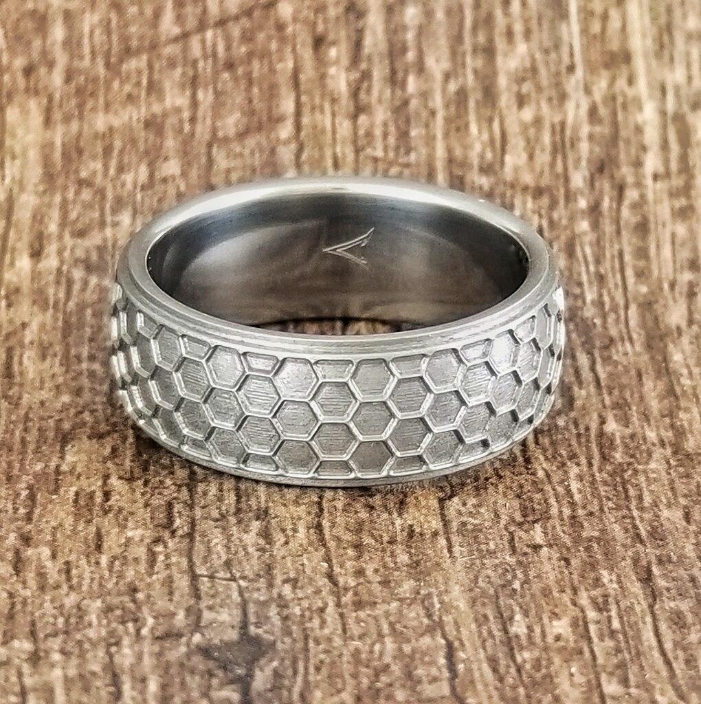 The Hornet Titanium Ring