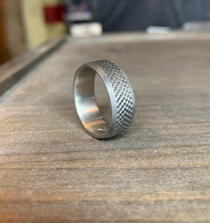 Men's Ground Zero Titanium Ring