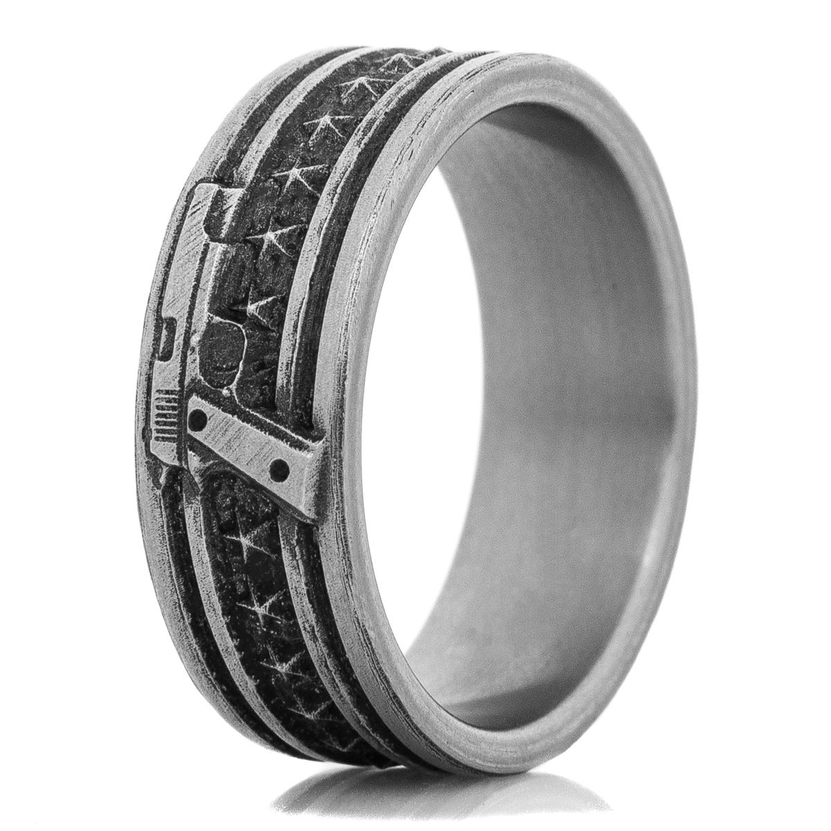 The Titanium Caliber Ring