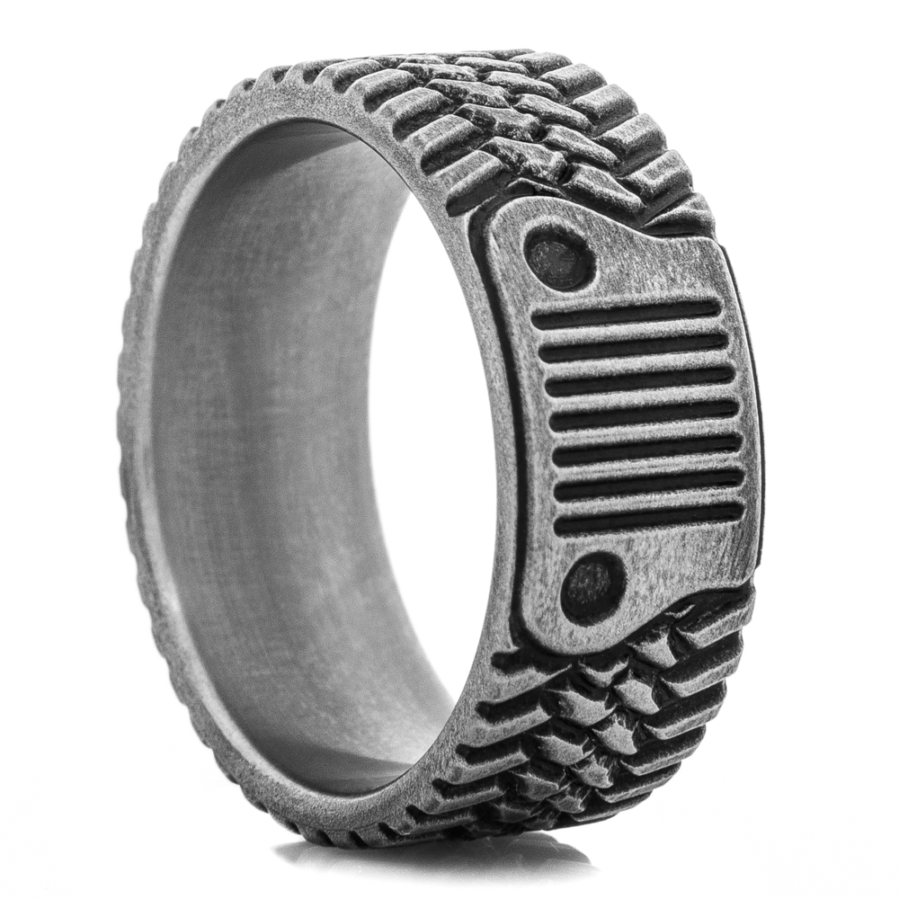 Titanium Trail King Ring