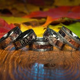 shop camo rings