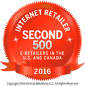 Internet Retailer Second 500 E-Retailers in the U.S. and Canada for 2016