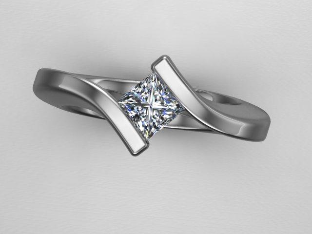 custom princess ring