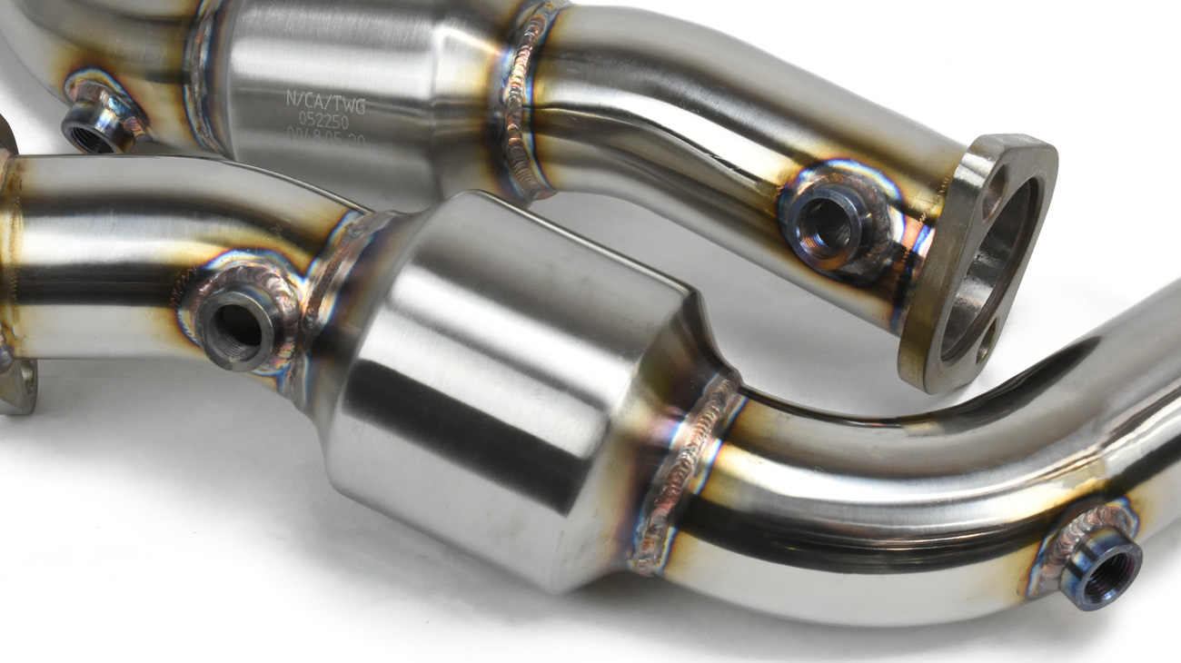 downpipe set cats and bungs