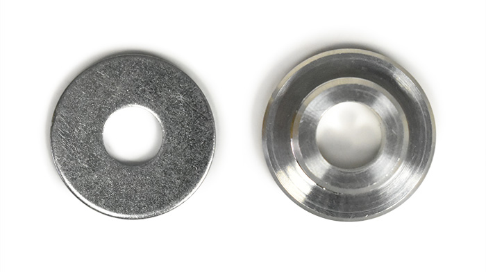 shifter bushing with washer
