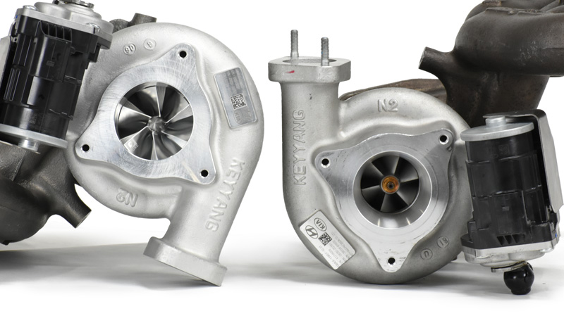 vn pure turbo inlet comparisson