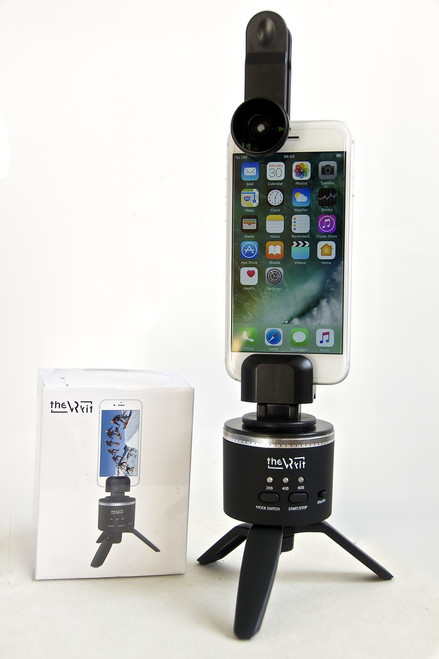 Bluetooth rotator and 180T lens