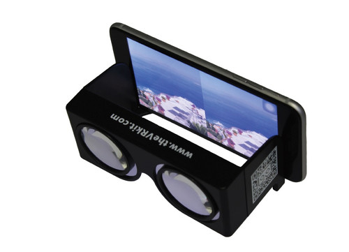 Plastic foldable VR glasses