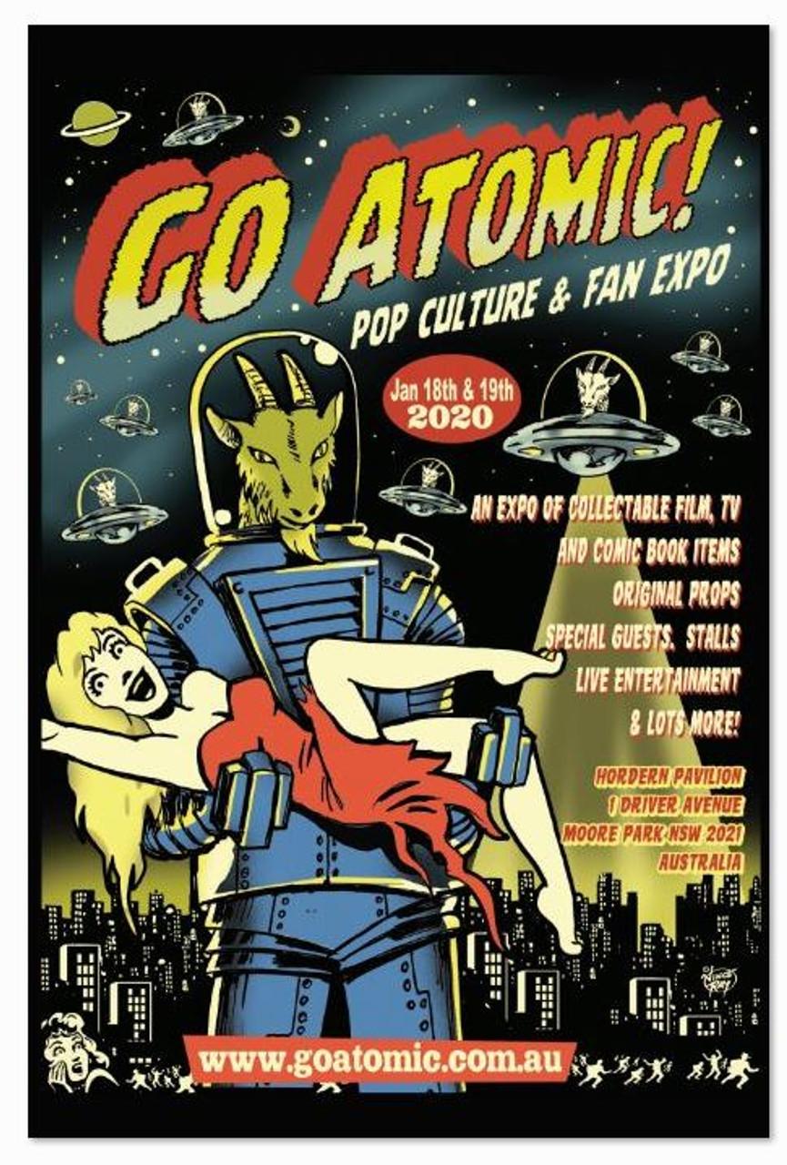 Go Atomic! Poster