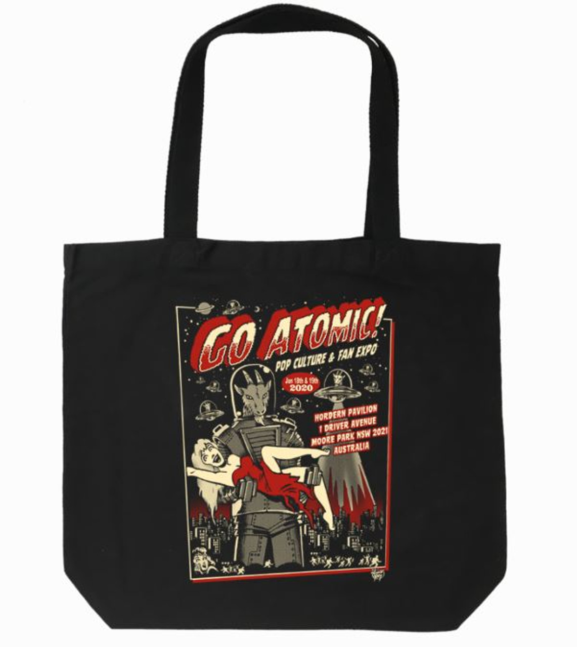 Go Atomic! Tote Bag