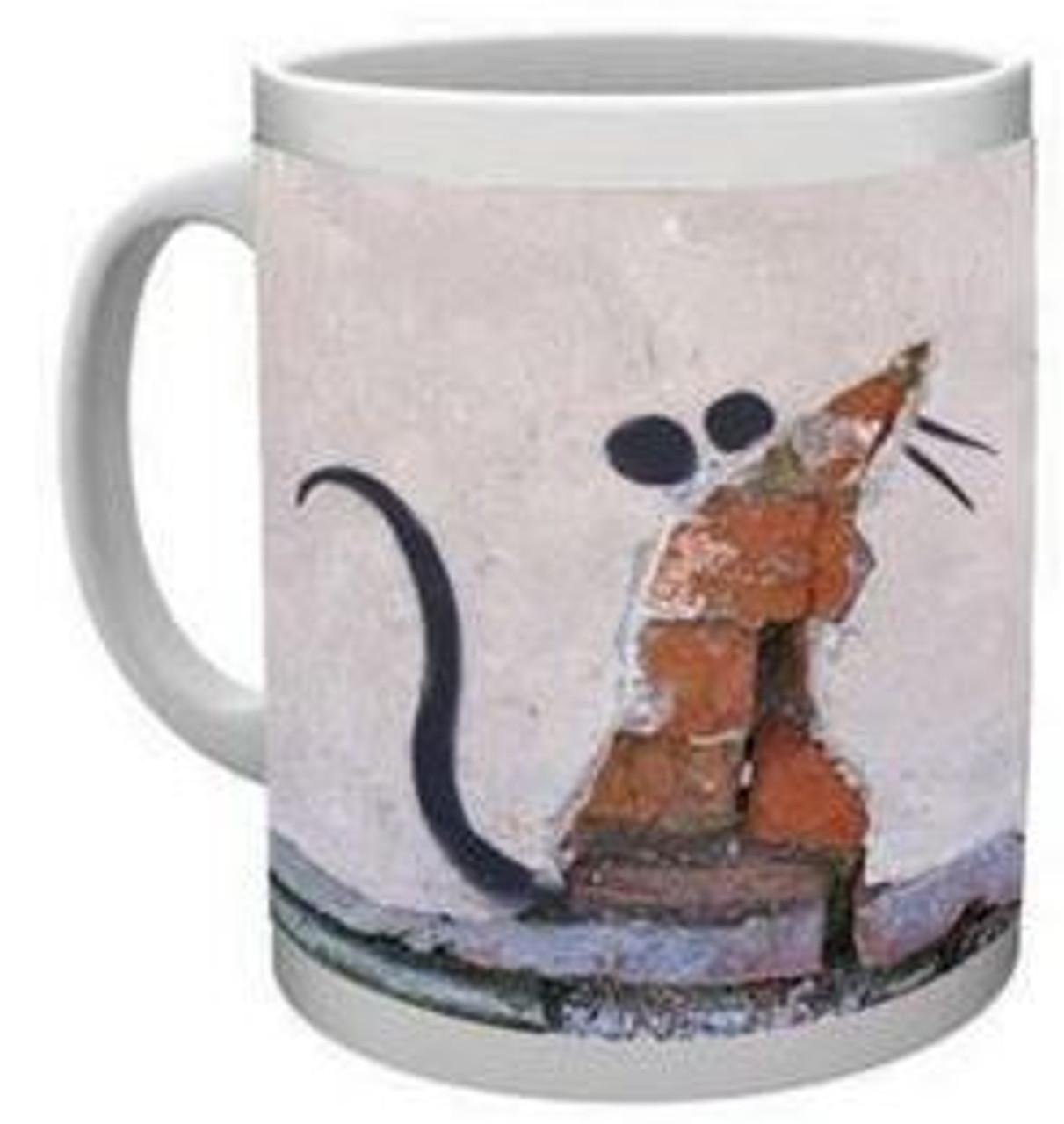 Banksy - Wall Rat - Mug