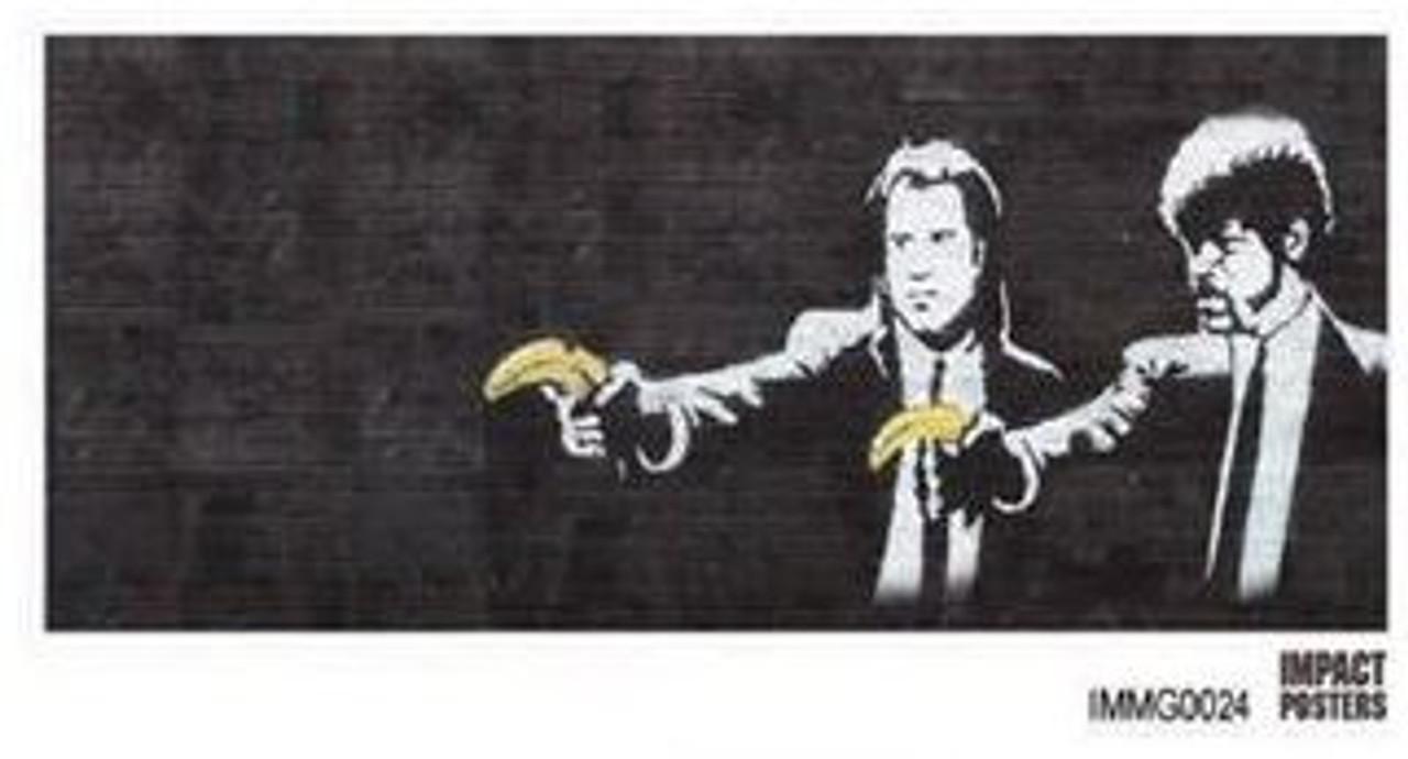 Banksy - Pulp Fiction - Mug