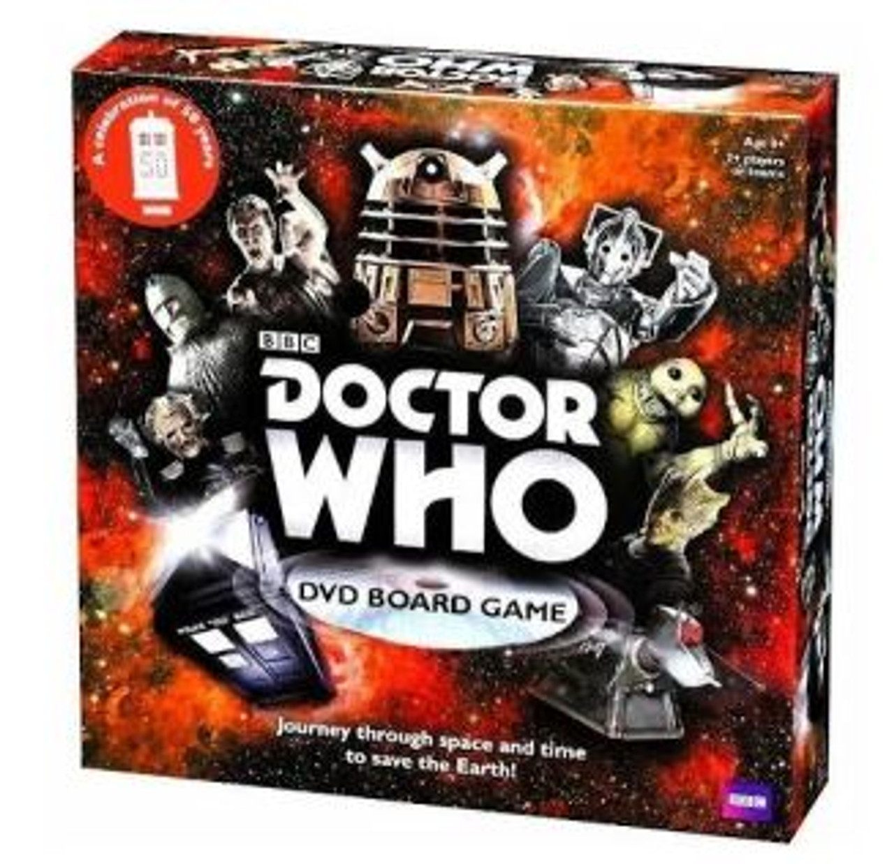 BBC Doctor Who DVD Board Game (50th Anniversary)