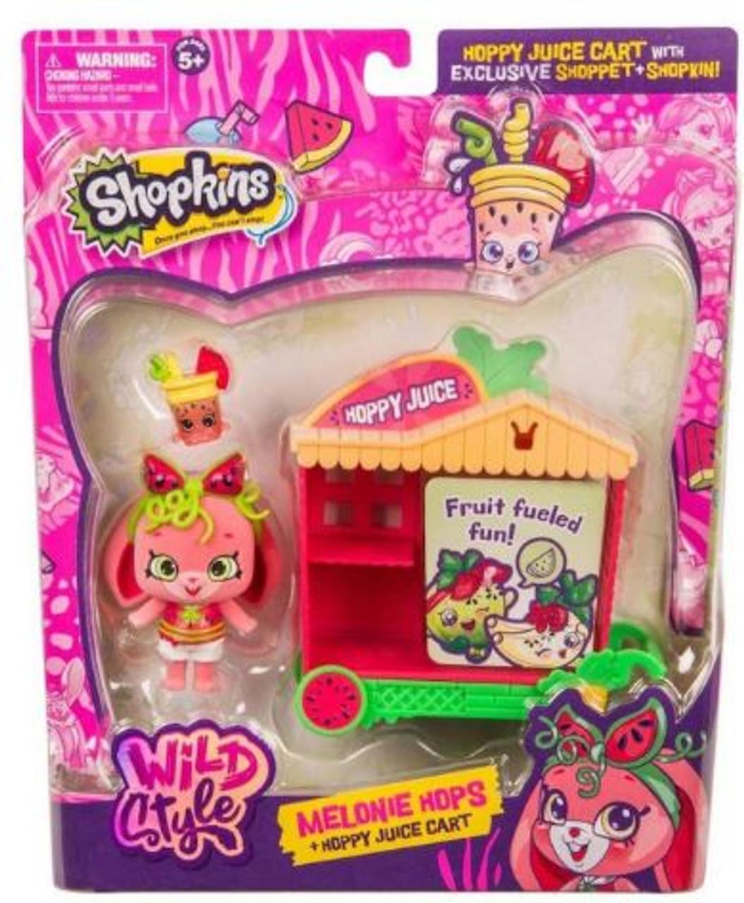 Shopkins Wild Style Melonie Hops & Hoppy Juice Cart