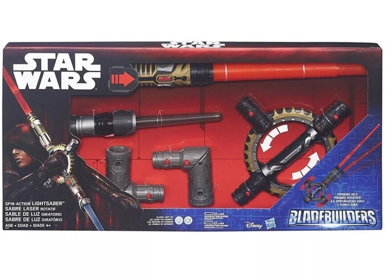 Star Wars Spin-Action Lightsaber
