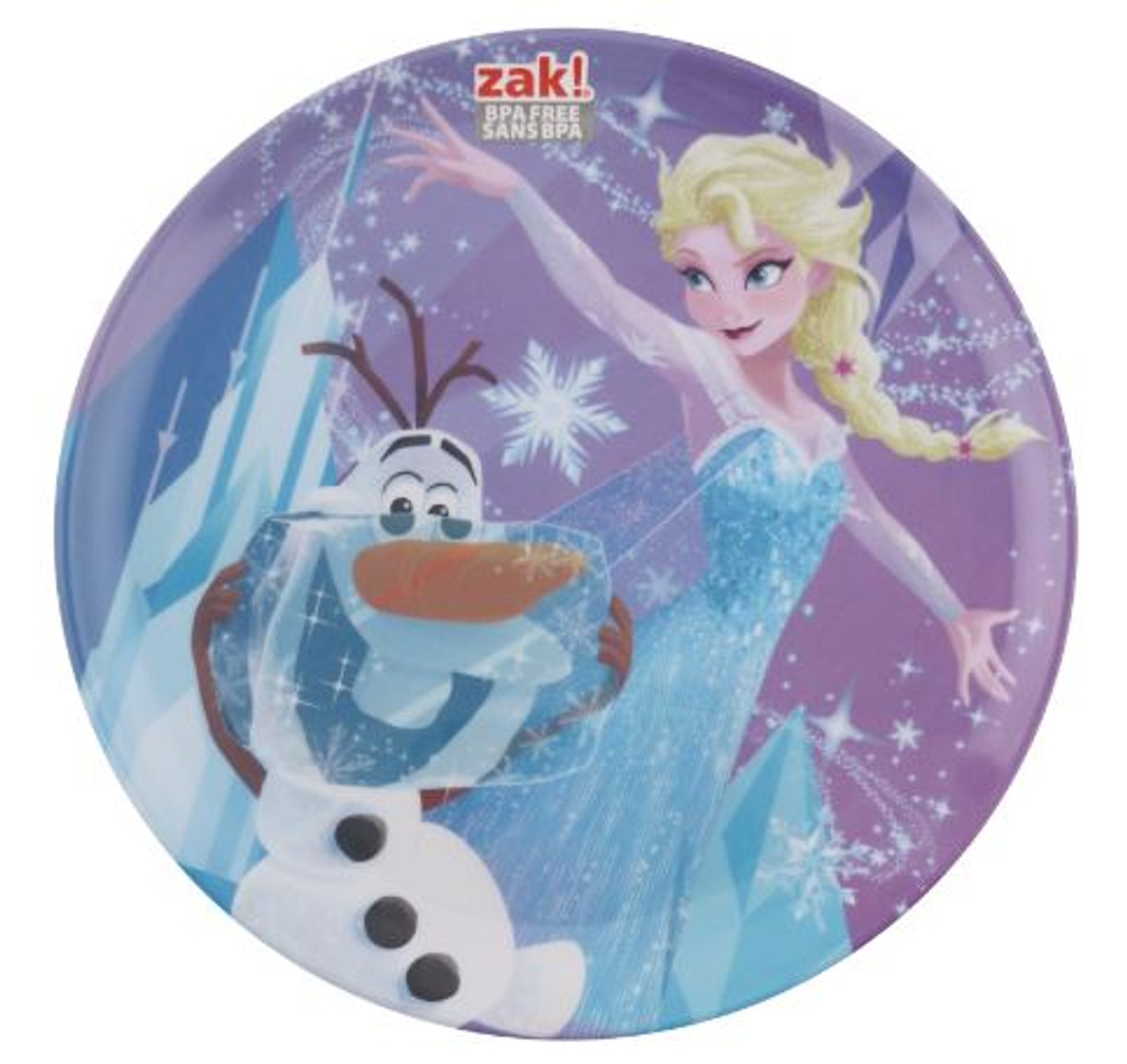 Frozen Melamine Plate