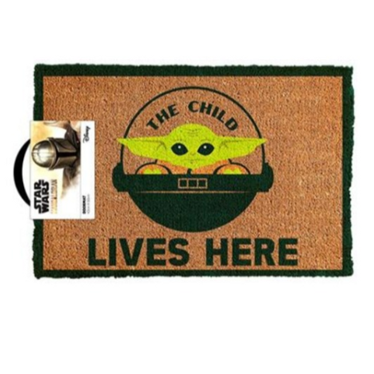 Star Wars: The Mandalorian - The Child Lives Here - Doormat