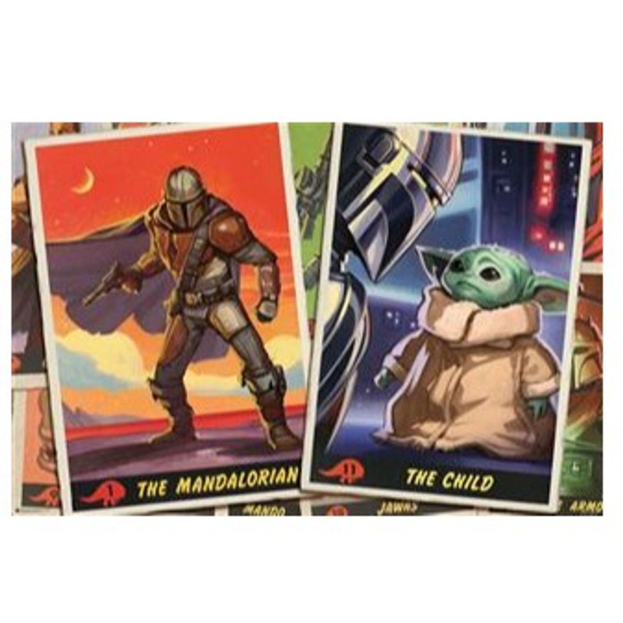 Poster - Star Wars: The Mandalorian - Trading Cards