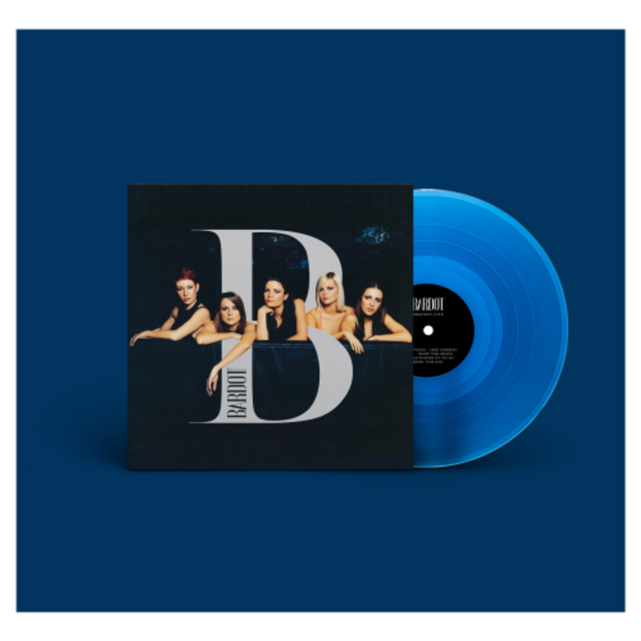 BARDOT Greatest Hits - BLUE VINYL