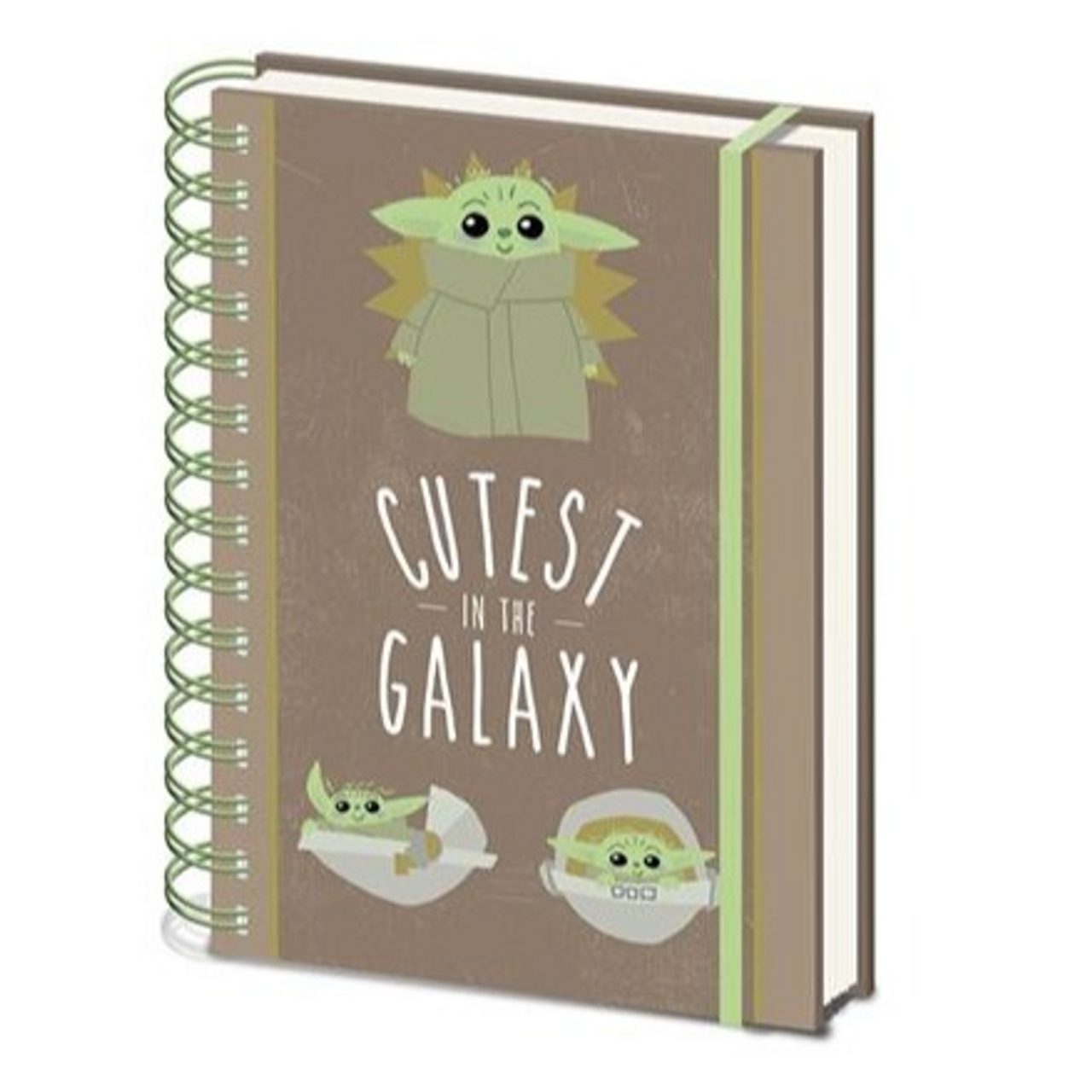 Star Wars: The Mandalorian - Cutest In All The Galaxy - Spiral Notebook (A5)