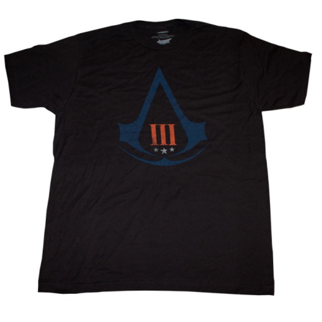 Assassin's Creed 3 - Distressed Logo - SIZE 2XL