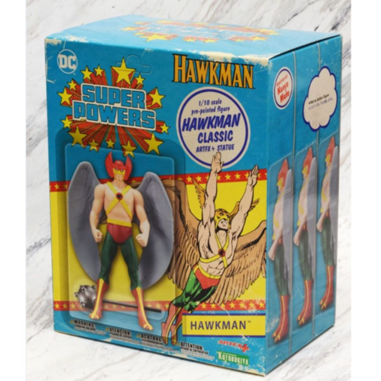DC Comics ARTFX+ Statue - HAWKMAN 'Super Powers' 1/10 scale