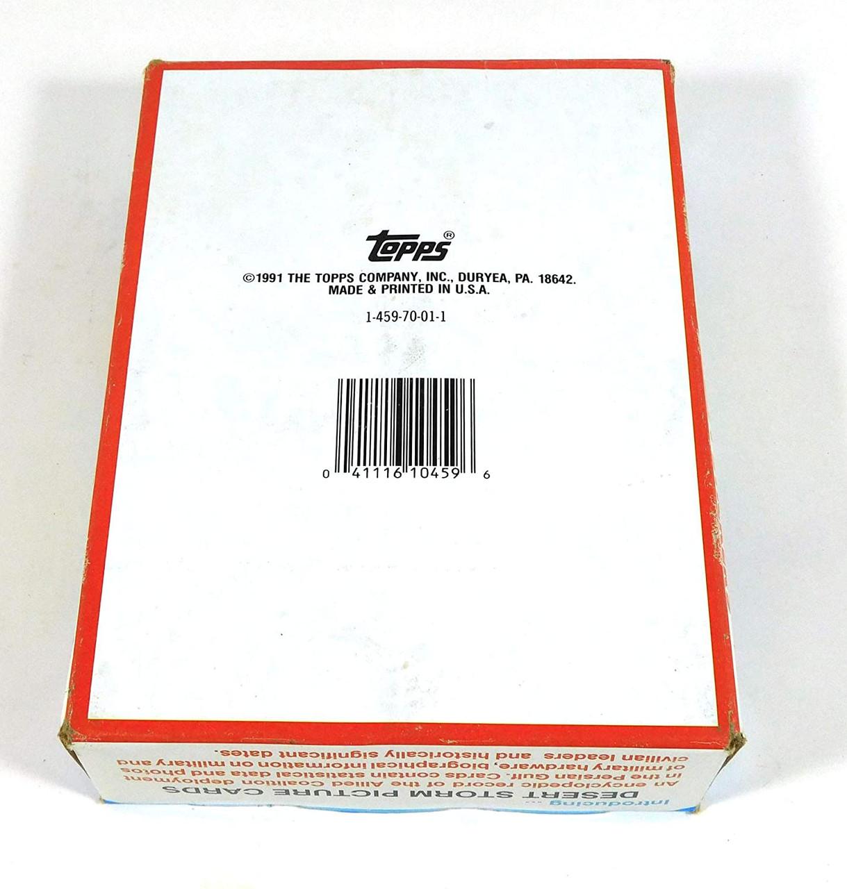 DESERT STORM Trading Cards (36 packs in box) (1991)