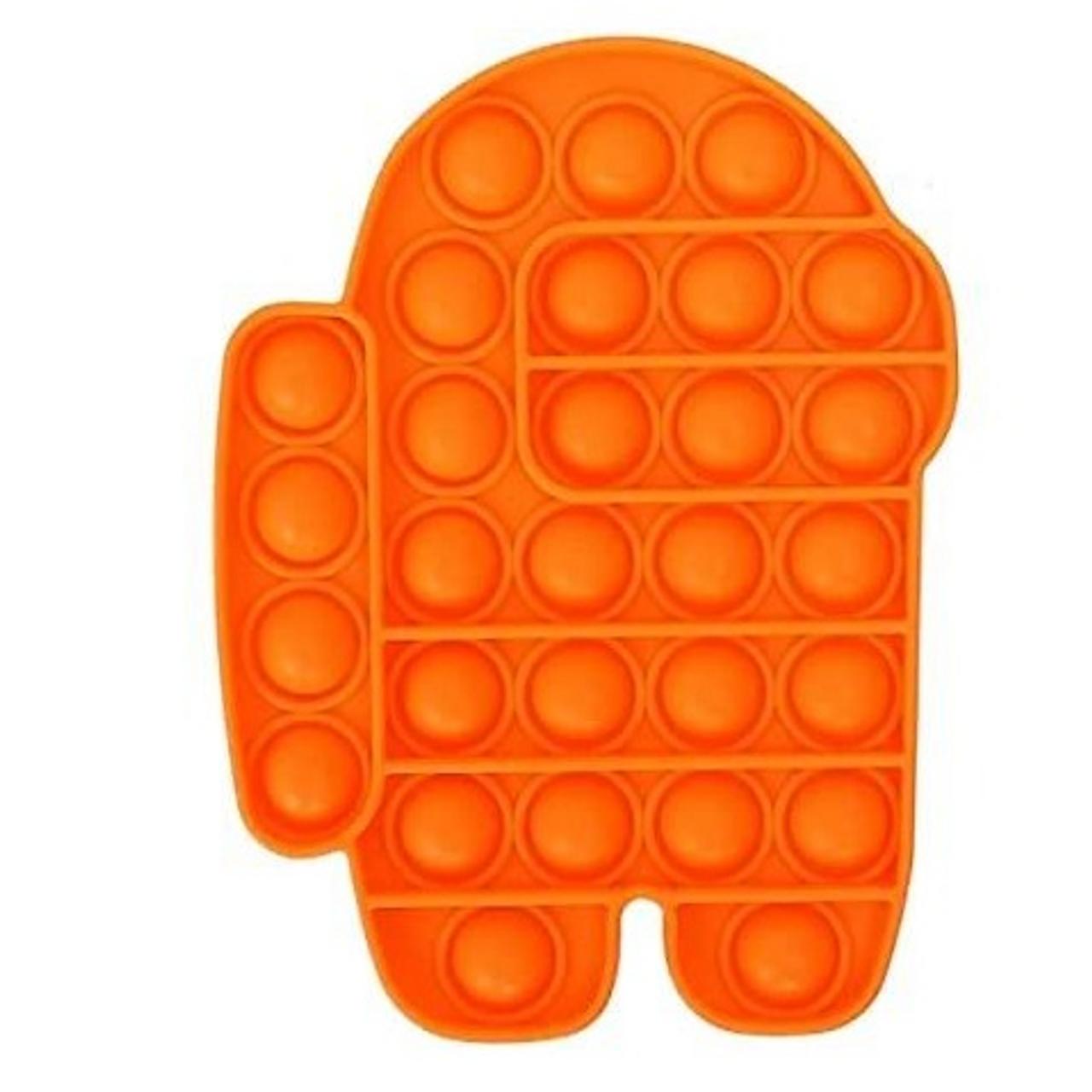 Pop It Fidget Toy AMONG US - ORANGE