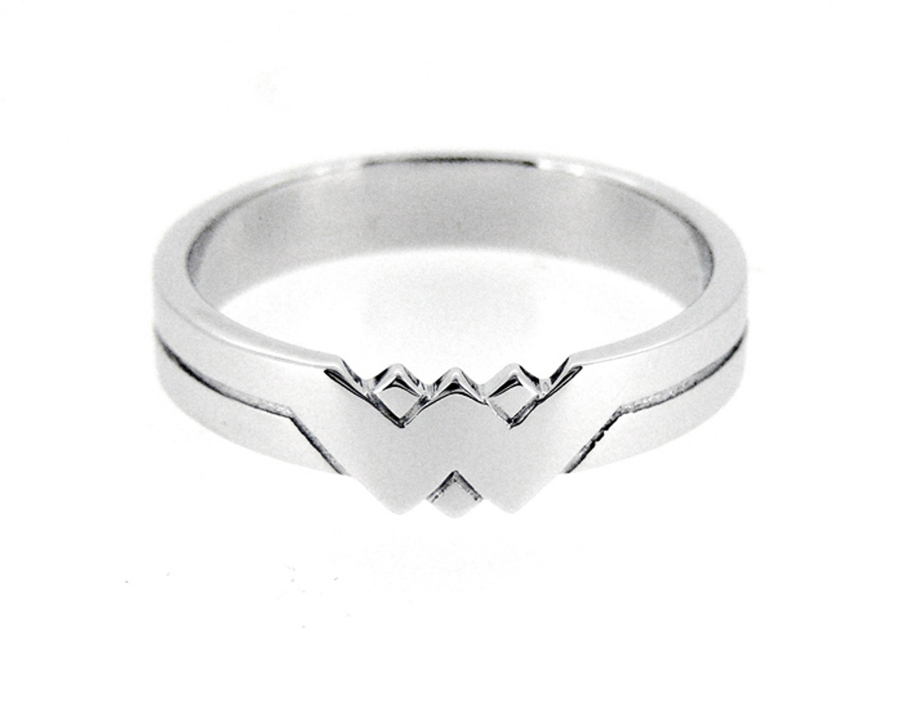 Wonder Woman Sterling Silver Ring