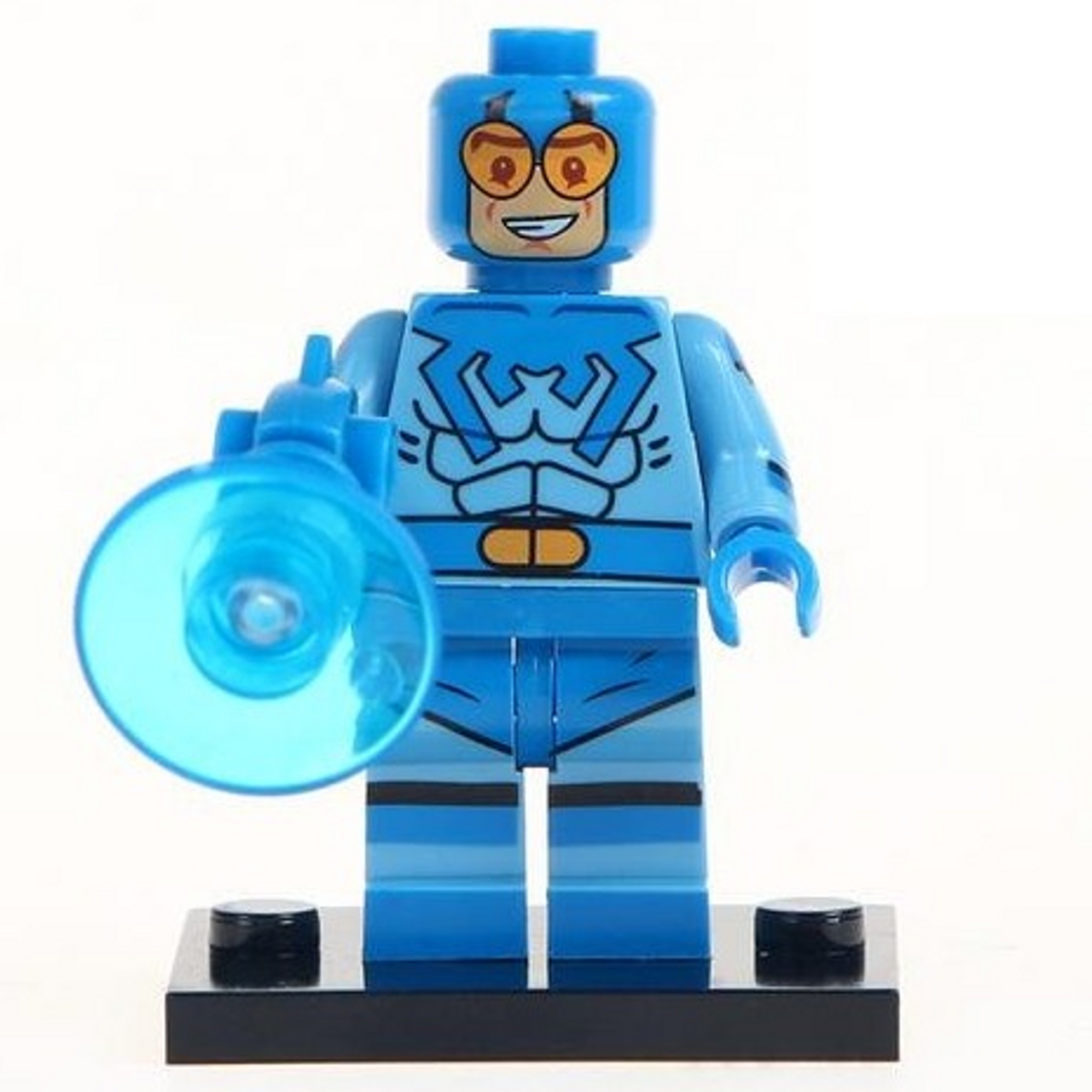 Minifigure (Small) Blue Beetle (75)