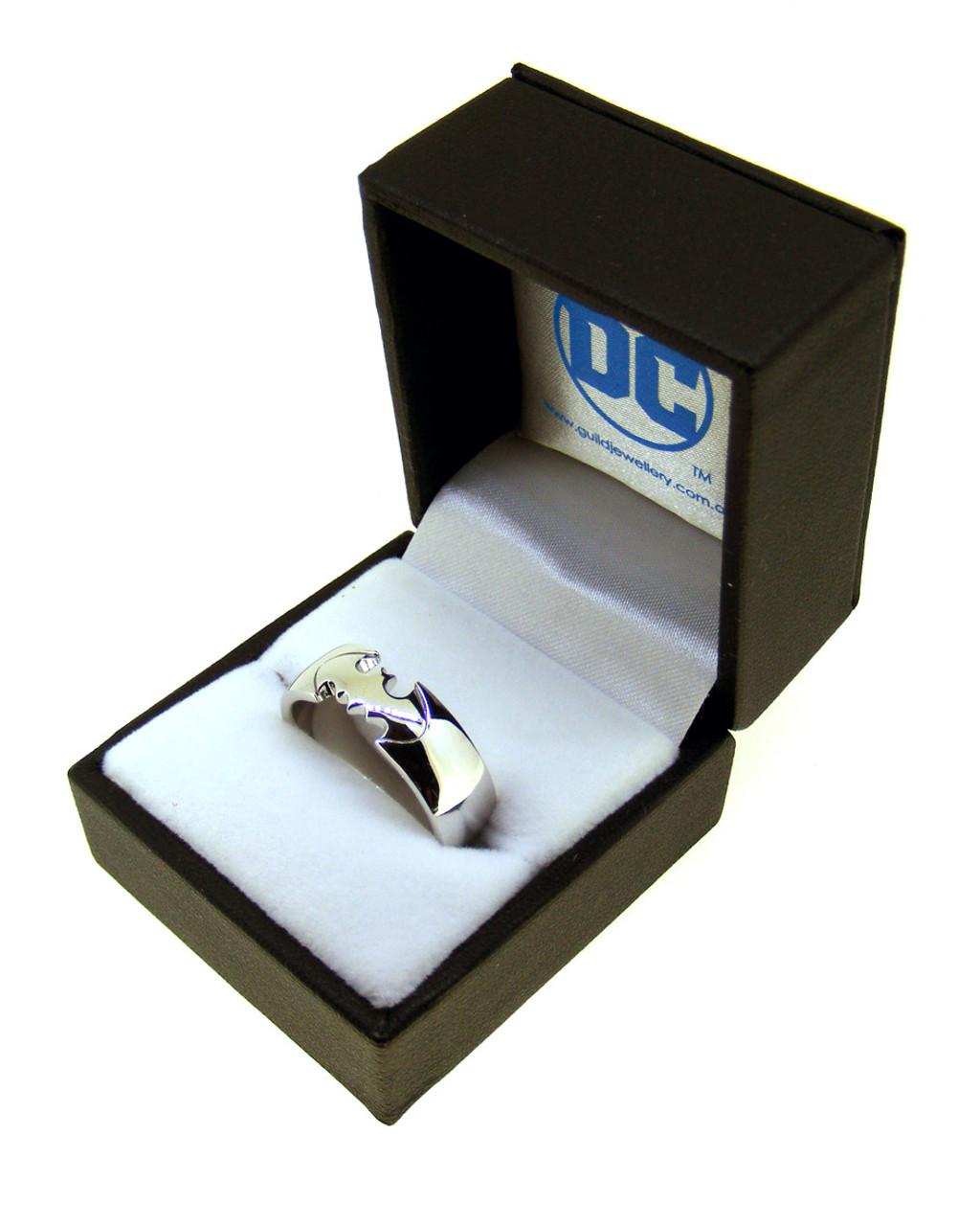 Batman Sterling Silver Ring